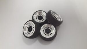 1:18 Scale WIDE STEEL WHEELSET 15 INCH.. NEW! With color options!!