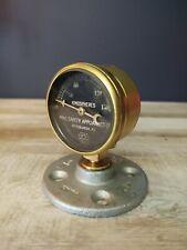 **Vintage Brass Gauge** Mine Safety Appliance Co. Tiny Eye Catcher!!