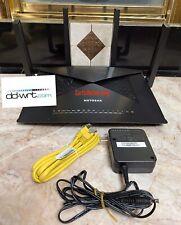 NETGEAR R9000 Nighthawk X10 AD7200 7-Port Gigabit Router WITH DD-WRT VPN