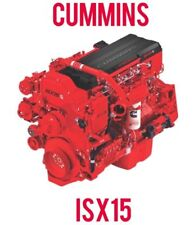 Cummins Signature ISX15 Diesel Engine Service Repair Electrical Manual Latest CD