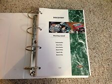1995-1998 Land Rover Discovery Service Repair Manual 3.9 4.0 V8 TDI Diesel 96 97