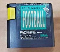 John Madden Football (Sega Genesis, 1990) GAME CARTRIDGE ONLY ~TESTED~