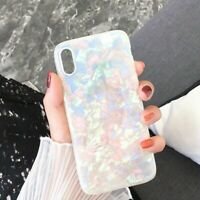 Case for iPhone XR XS MAX 8 7 6 Plus ShockProof Marble Phone Cover Silicone