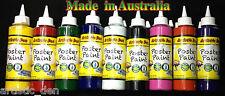 Kids Paint Set School Paints Poster Paint Children Paints  9x 250ml Artistic Den