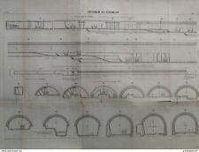 ANNALES PONT et CHAUSSEES - Souterrain des écharmeaux - 1900