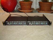 Symetrix SX201, Pair, Parametric Equalizer / Preamp, Eq, Vintage Rack