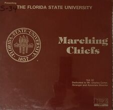 MINT/SEALED/RARE- FLORIDA STATE UNIVERSITY MARCHING CHIEFS VOL. IV- USC SOUND
