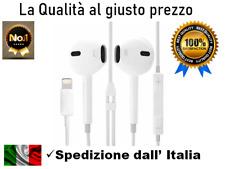 Cuffie Auricolari Universali per iPhone 5/6/7/8/X Connettore 8 pin LIGHTNIN