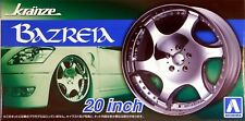 "Aoshima 1/24 Kranze Bazreia 20""  Wheel Rims & Tire Set for Models 5467 (76)"