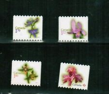 CANADA 2010 DIE CUT** FLOWER DEFINITIVES.up to $1.70 cat #2356+ $23. MNH  BK 417