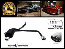 SILENCIEUX POT D'ECHAPPEMENT BMW 3 E36 318IS 1990-1994 1995 1996 1997 TIP 120x80