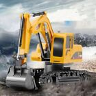 Charging Remote Control Excavator Electric Engineering Vehicle Children Toy Cars