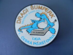 HC SUMPERK DRAGONS-CZECH DIVISION II HOCKEY LEAGUE 2000/01 Hockey Puck