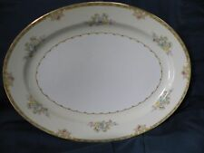 "Meito China "" Woodbine"" 16"" Platter Made In Japan"