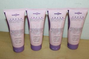 Fresh Breasts by Fresh Body 3.4oz (4 Pack) Antiperspirant Liquid Chafing Powder