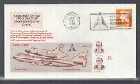 USA Beleg 1979 Columbia OV 102 Space Shuttle First Test Flight on 747