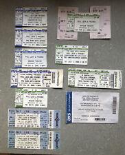 Lot Of Concert Ticket Stubs-Phil Lesh, Further Festival, Other Ones, Gov't Mule