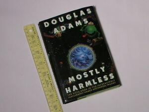 1992 Mostly Harmless by Douglas Adams HCDJ American 1st Edition/1st Print SIGNED