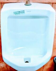 KOHLER Freshman Urinal K-4989-T-0, White. Men's Man Cave Toilet Never Used