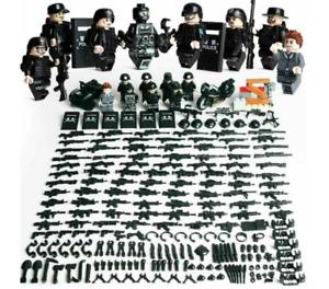 8X Spezialkräfte Militär Marine Soldaten Armee Minifiguren Sets Lego