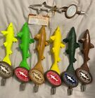 Dogfish Head Brewery Beer Tap Handle Collection Lot of 7 Different Colors