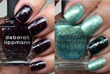 Deborah Lippmann nail polish LOT LET'S GO CRAZY & MERMAID'S DREAM
