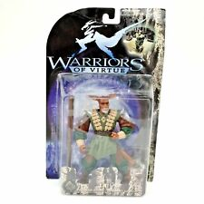 "Warriors of Virtue Order Integrity of Wood Lai 6"" Action Figure Doll Collector"