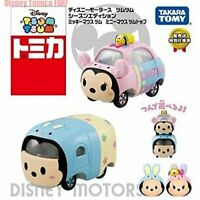 New Tomica DISNEY MOTORS Tsum Tsum Mickey Minnie Tomy Takara Set