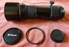 Nikon Nikkor ED* 400mm f/5.6 AI-s manual focus