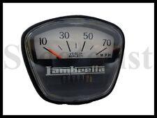 Lambretta 70 MPH Black Speedometer GP Li SX TV #f