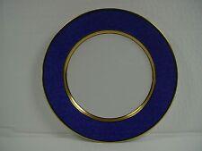 "FITZ & FLOYD china MOUCHETEE CERULEAN BLUE pattern Salad Plate @ 7 1/2"""