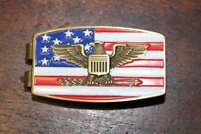 Money Clip American Flag & Eagle