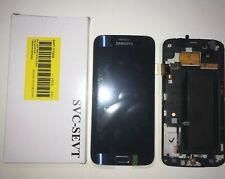 DISPLAY LCD + TOUCH SCREEN ORIGINALE SAMSUNG GALAXY S6 EDGE G925F SM-G925F NERO