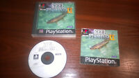 SONY PLAYSTATION 1 PS1 - REEL FISHING II 2 #G32 BOXED