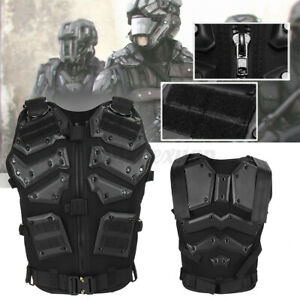 Adjustable Military Tactical Warm Vest Airsoft Molle Combat Army Plate Carrier