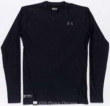 Under Armour Tactical Black Cold Gear Compression Crew Shirt Mens Size XL