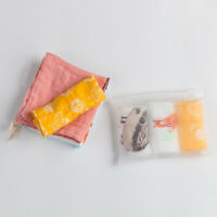 Water Absorption Wipe Cloth Infant Handkerchief  Muslin Towel Baby Bibs