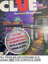 U-PICK 2013 Clue Classic Mansion board game replacement parts and pieces