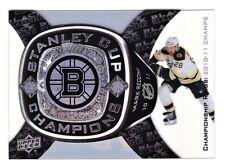 Mark Recchi Boston Bruins 2011-12 Black Diamond Championship Ring Bearers Card