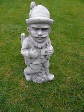 statue d un chasseur en pierre patinée , nouveau ! chasse , décoration jardin