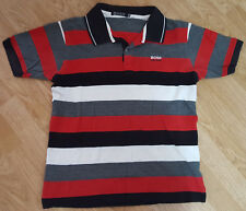5cc2e2d043 Hugo Boss Polo T Shirt Tee Top Short Sleeves Striped Ladies Size XXL