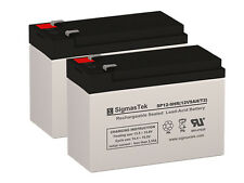 Pack of 2 - 12V 9AH SLA Batteries (Replaces: UB1290, PX12090, PE12V9, HR9-12)