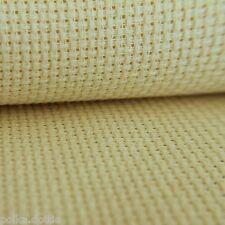 35cm x 35cm 14 Count Cream Aida 100/% Cotton Fabric