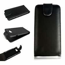 Vertical Flip Full Black Leather Cover Case For Samsung Galaxy A3 (2016) A310F