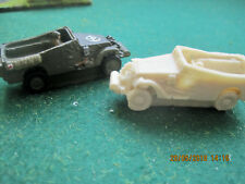 15mm - White scout car x 3