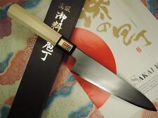 Japanese Sakai Yusuke White Steel Sanmai Wa-gyuto 210mm