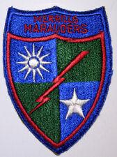 "WW2 ""Merrills Marauders"" Original Shoulder patch -Minty"