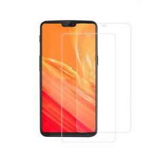 FoneM8 2 x Tempered Glass Screen Protector For OnePlus 6 - Twin Pack