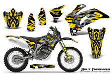 YAMAHA WR250F WR450F 2007-2011 GRAPHICS KIT CREATORX DECALS BTY