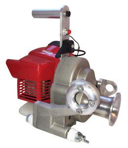 Spillwinde mit Kawasaki Motor TJ-35E 1kw 35ccm Spindelwinde Winde bis 1000kg NEU